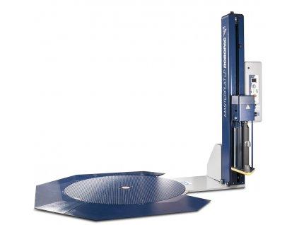 Ovinovací stroj MASTERPLAT PLUS LP (Ovinovací stroj MASTERPLAT PLUS LP PGS - s fixním předepínáním fólie 250% a ovládáním napínání z ovládacího panelu)