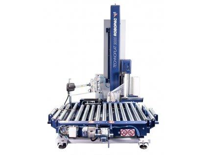 Ovinovací staniceTECHNOPLAT 3000 (Ovinovací stroj TECHNOPLAT 3000 PVS - s variabilním předepínáním fólie 0-400% a ovládáním napínání i předepínání z ovládacího panelu)