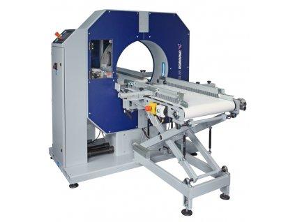COMPACTA SPG - chytré balení bez výplně (Ovinovací stroj COMPACTA SPG6 - s rotačním prstencem o průměru 610 mm)