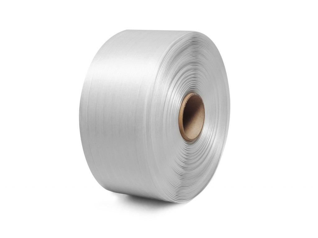 PES textilní vázací páska lepená, 25mm