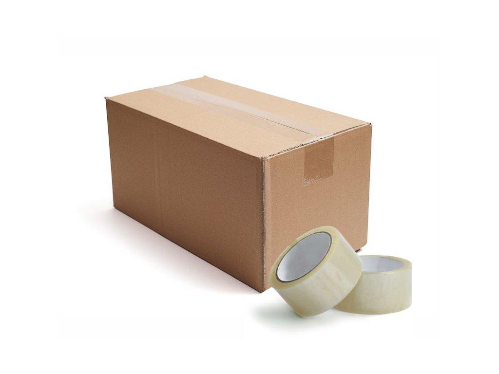 Lepicí páska transparent karton 36 ks