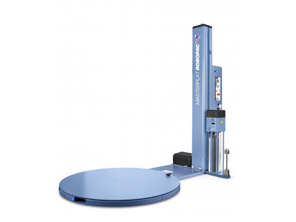 Mrazuvzdorný ovinovací stroj MASTERPLAT PLUS FREEZER (Ovinovací stroj MASTERPLAT PLUS FREEZER PGS - s fixním předepínáním fólie 250% a ovládáním napínání z ovládacího panelu)