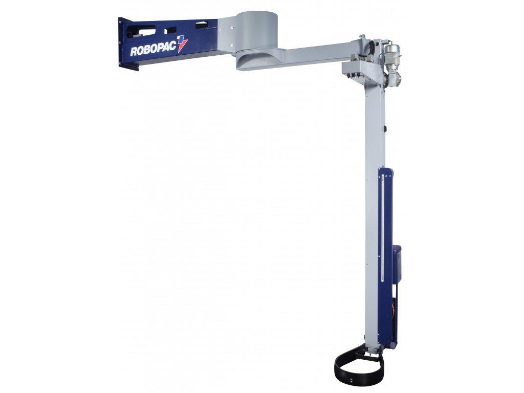 Rotující rameno ROTARY W - na stěnu (Ovinovací stroj ROTARY W PVS - s variabilním předepínáním fólie 0-400% a ovládáním napínání i předepínání z ovládacího panelu)