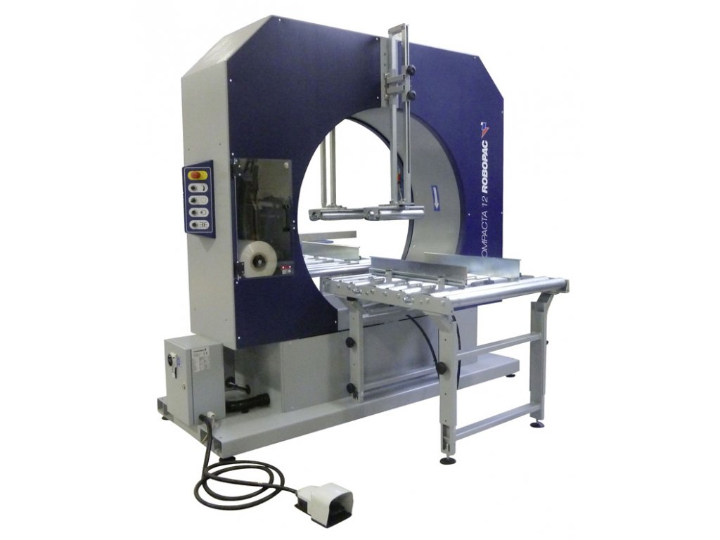 Horizontální ovinovačka COMPACTA 12 (Ovinovací stroj COMPACTA 12-250 - pro šíři stretch fólie 250 mm)