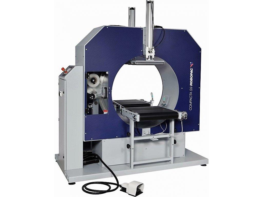 Horizontální ovinovačka COMPACTA S12 (Ovinovací stroj COMPACTA S12-250 - pro šíři stretch fólie 250 mm)
