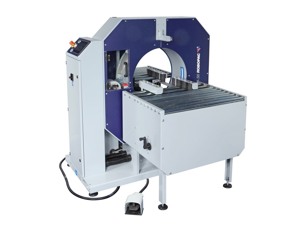 COMPACTA SPR - chytré balení bez výplně (Ovinovací stroj COMPACTA SPR6 - s rotačním prstencem o průměru 610 mm)
