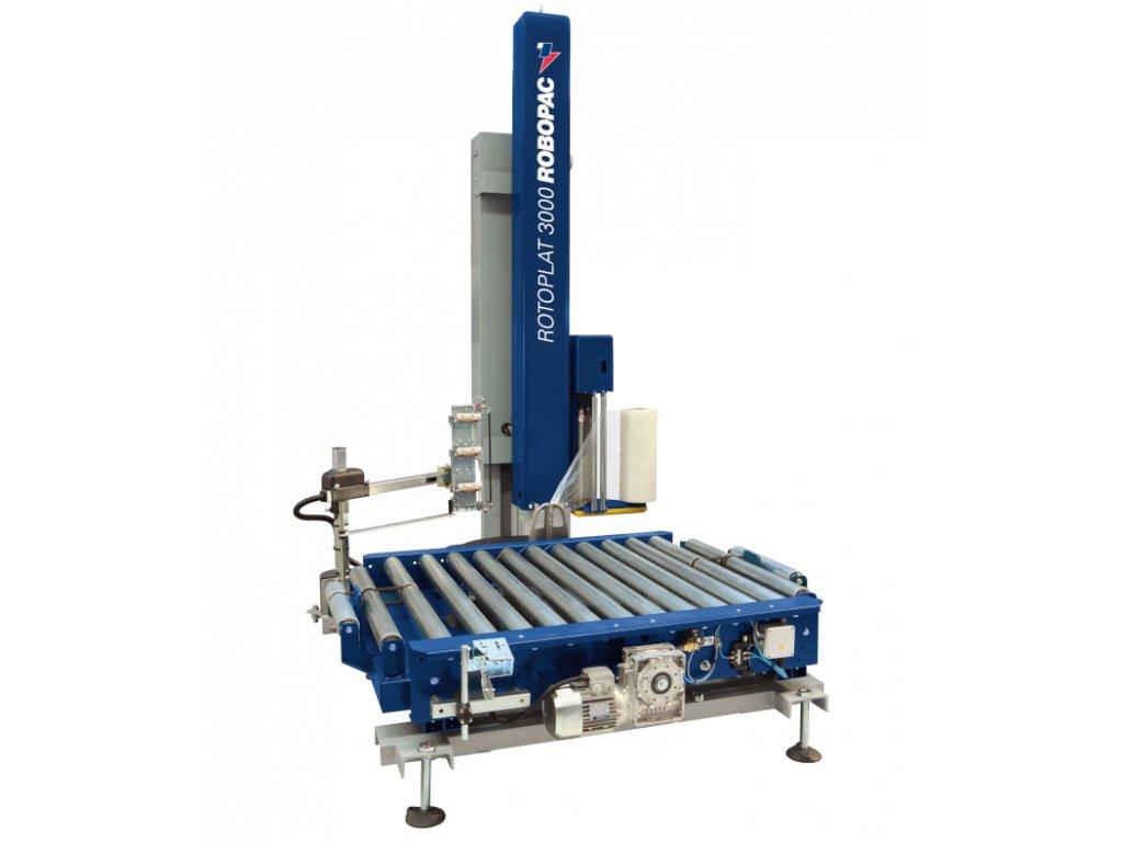 Ovinovací stanice ROTOPLAT 3000 (Ovinovací stroj ROTOPLAT 3000 PVS - s dvoumotorovým variabilním předepínáním PVS 0-400%)