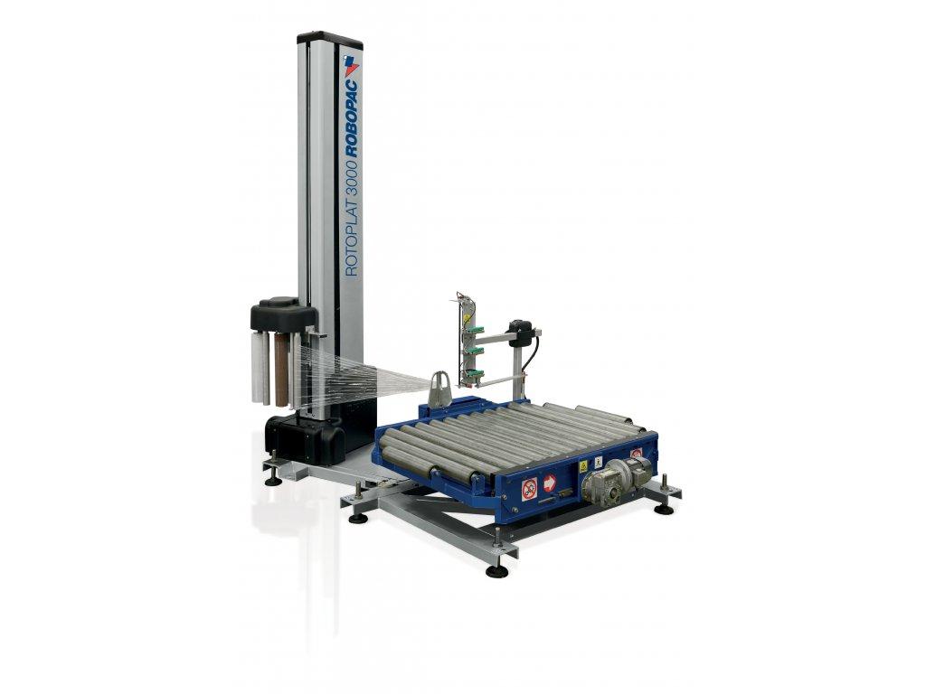 Ovinovací stanice ROTOPLAT 3000 HD (Ovinovací stroj ROTOPLAT 3000 HD PGSM - s fixním předepínáním a sadou pro změnu hodnoty předepínání)