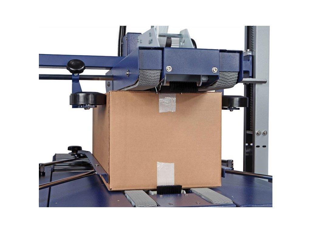 Lepicí stroje ROBOTAPE TBD (Lepící stroj ROBOTAPE 80 TBD - pro max. velikost produktu d.š.v. ∞x800x800 mm, min. 150x160x110 mm)