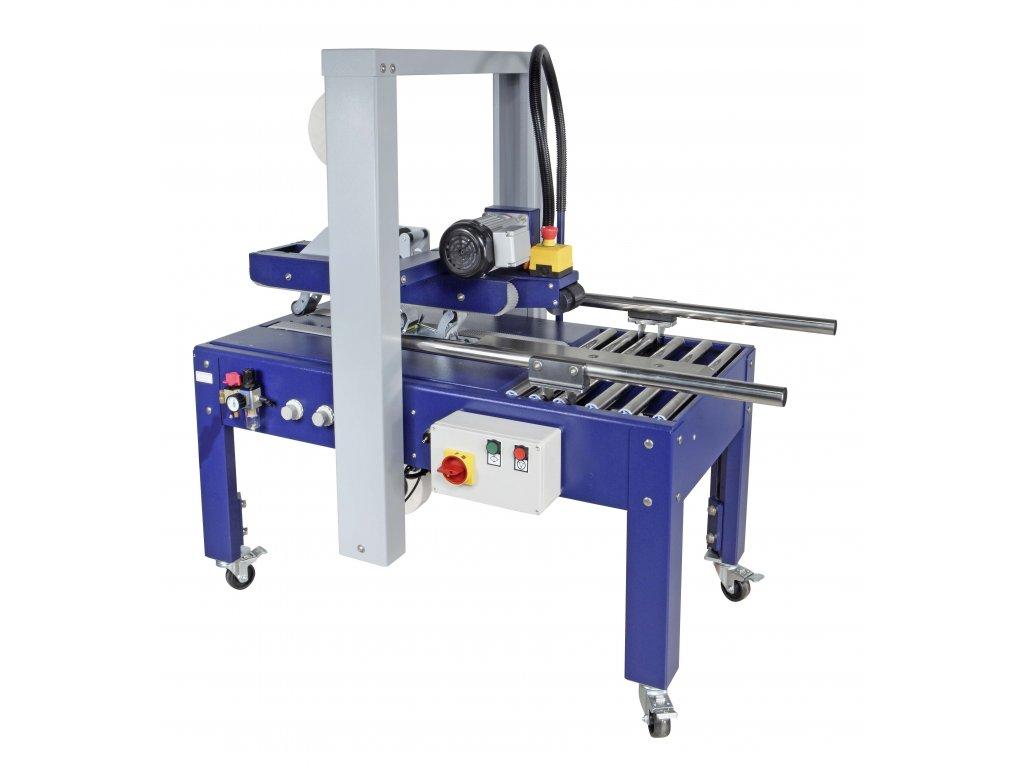ROBOTAPE TBDA - Lepička s automatickým nastavením formátu (Lepící stroj ROBOTAPE 65 TBDA - pro max. velikost produktu d.š.v. ∞x650x650 mm, min. 150x160x110 mm)