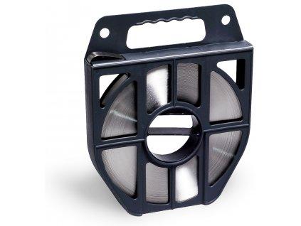 Nerezová páska BANDIMEX - Ľahká, 9.5-19x0.4 mm, 50m