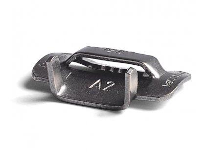 Nerezové spony BANDIMEX - stredné, šírka 6.4-19 mm