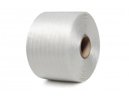 PES textilná viazacia páska - lepená, 9mm