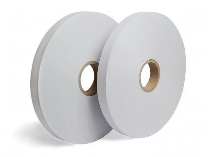 Biela papierová páska - Ultrazvukový zvar