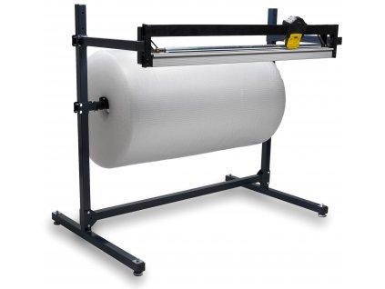 Odvíječ fólie s ořezem -1000 -2000 mm (Odvíječ fólie H200 - max.šíře fólie 2000 mm, celkové rozměry š.d.v. 2390x830x1250 mm)