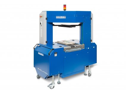 Plne automatický páskovací stroj EVOLUTION SONIXS TRI-6 BASE - In-line páskovanie