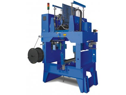 MOSCA MK 44 - Plne automatický páskovací stroj pre stavebný priemysel