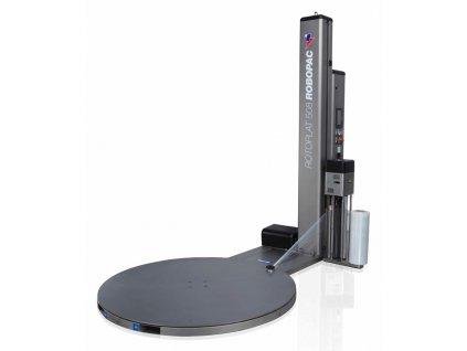 Nerezový ovíjecí stroj ROTOPLAT INOX (Ovinovací stroj ROTOPLAT INOX PVS - s variabilním předepínáním fólie 0-400% a ovládáním napínání i předepínání z ovládacího panelu)