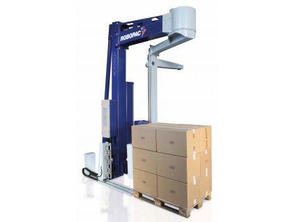 Ovíjecí rameno ROTOTECH CS a CW (Ovinovací stroj ROTOTECH CW PVS - se svařovací jednotkou CW, s variabilním předepínáním fólie PVS 0-400% a ovládáním napínání i předepínání z ov)