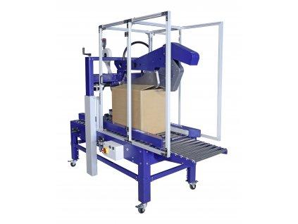 Automatická lepička ROBOTAPE CF (Lepící stroj ROBOTAPE 65 CF - pro max. velikost produktu d.š.v. 800x650x650 mm, min. 150x110x110 mm)