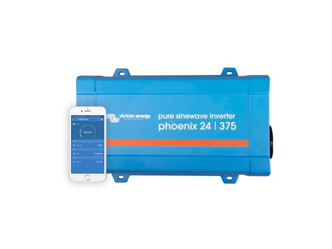 Menič napätia SINUS Victron Energy Phoenix VE.Direct 24V 375VA