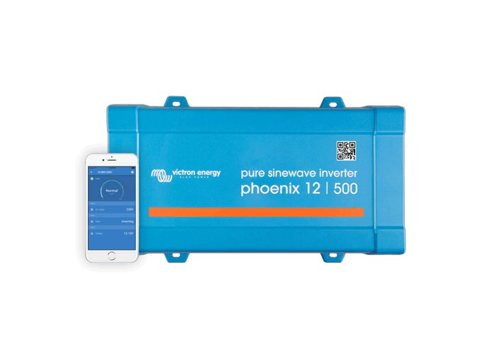 Menič napätia SINUS Victron Energy Phoenix VE.Direct 12V 500VA