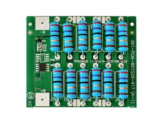 Batériový balancér LiFePO4 pre 1 článok