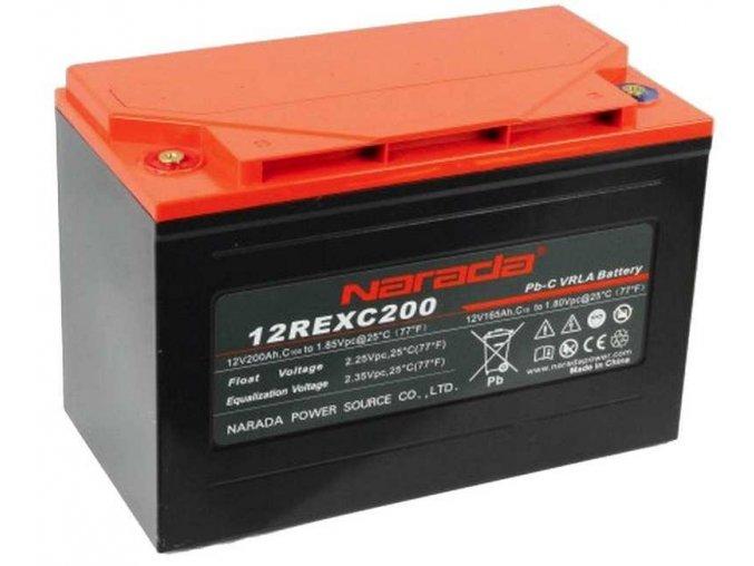 Bezúdržbová batéria olovo uhlík Narada 12REXC200 12V 200Ah