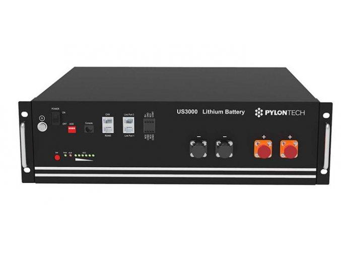 Batéria LiFePO4 Pylontech US3000 48V 74Ah 3,6kWh