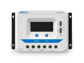 PWM solárny regulátor nabíjania epsolar s USB