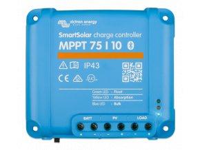 MPPT SMART solárny regulátor Victron Energy 75 10 z vrchu