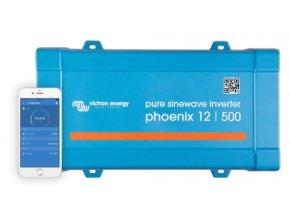 Menič napätia SINUS Victron Energy Phoenix VE.Direct 12V 500VA
