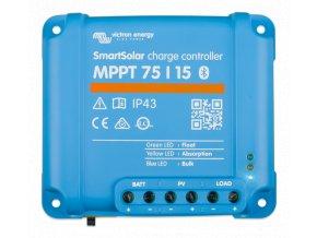 MPPT SMART solárny regulátor Victron Energy 75 15 z vrchu