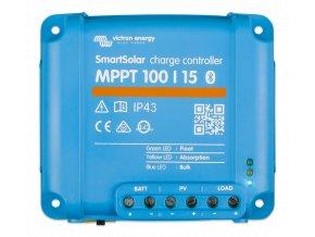 MPPT SMART solárny regulátor Victron Energy 100 15 z vrchu