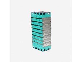 GBS LiFePO4 batéria s vysokým výkonom 12,8V 200 Ah 1