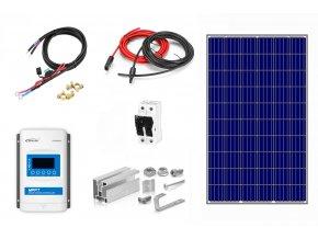 Ostrovný solárny systém s MPPT regulátorom 285Wp