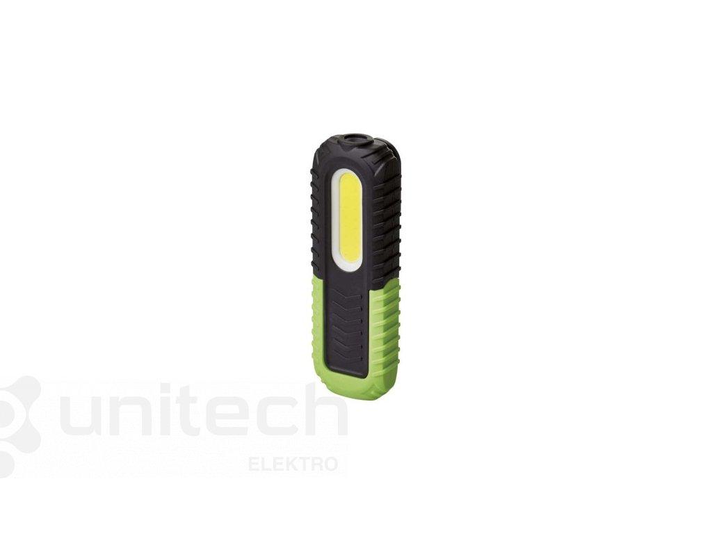 COB LED + LED nabíj. prac. svietidlo P4531, 400 lm,2000 mAh