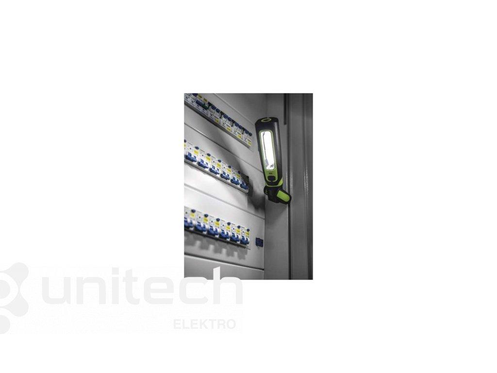 CREE LED + COB LED nabíj. svietidlo P4532, 470 lm, 1800 mAh