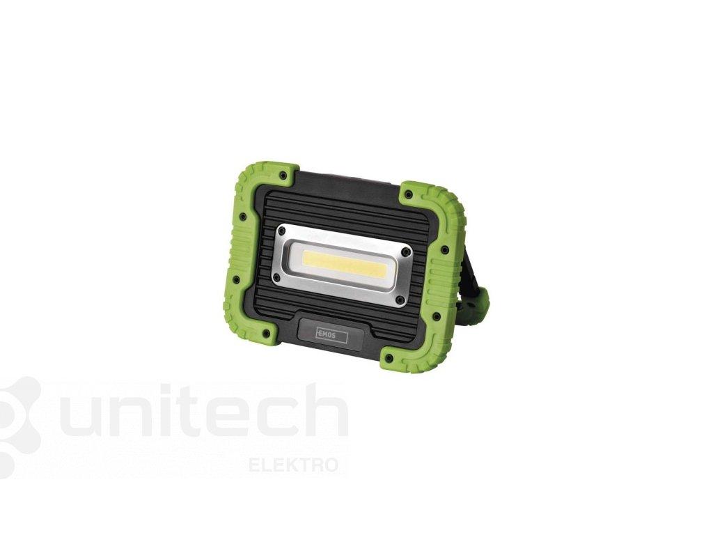 COB LED nabíjací pracovný reflektor P4534, 600 lm, 3000 mAh