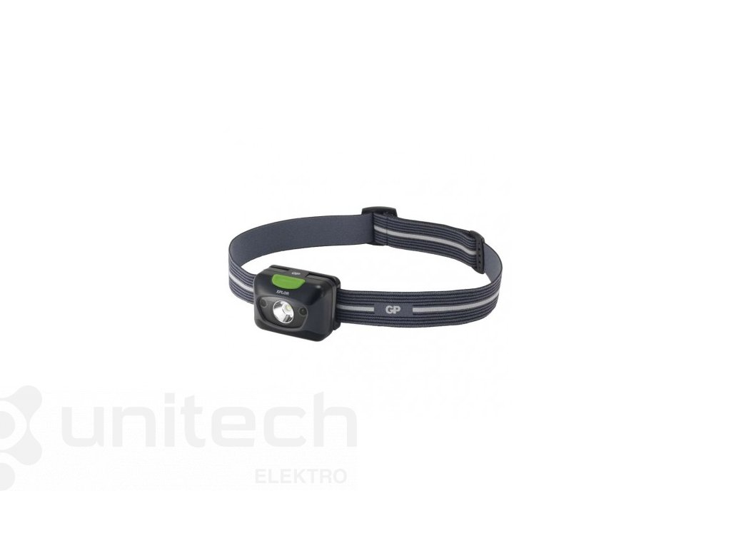 CREE LED čelovka GP PH15, 300 lm, 157m, 3× AAA