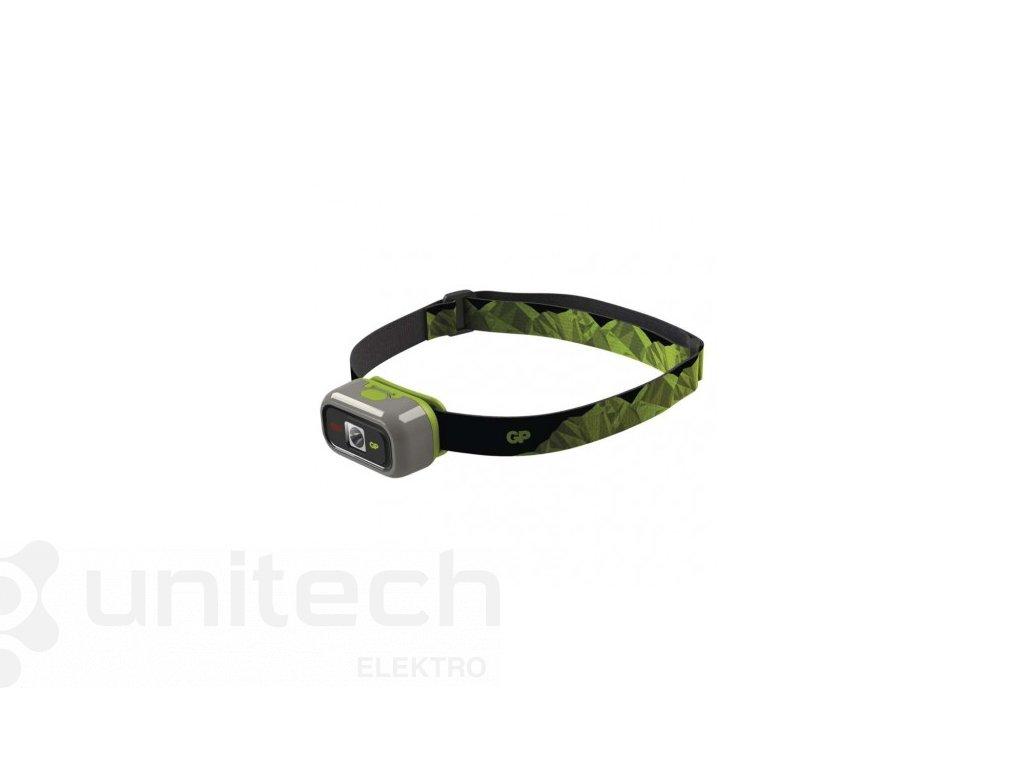 LED čelovka GP CH33, 100 lm, 40m, 1× AA