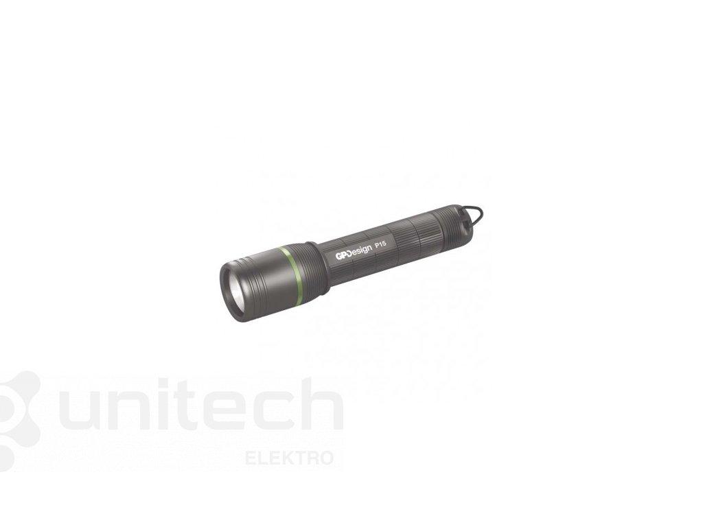 CREE LED ručné svietidlo GP P15, 150 lm, 1× AA