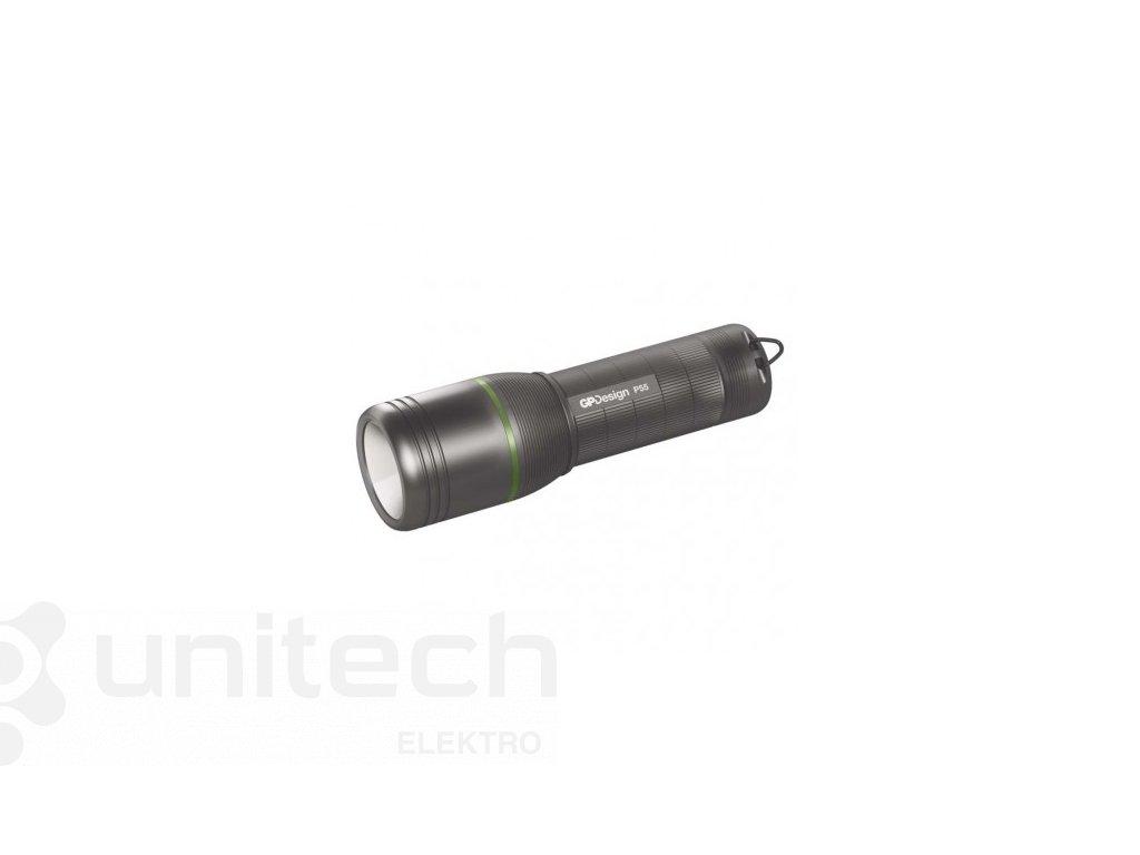 CREE LED ručné svietidlo GP P55, 450 lm, 4× AAA, fokus