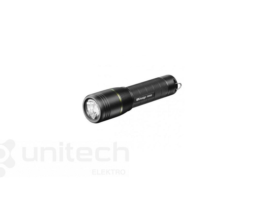 CREE LED nabíj. svietidlo GP PSR52, 1050 lm, 2600 mAh,fokus