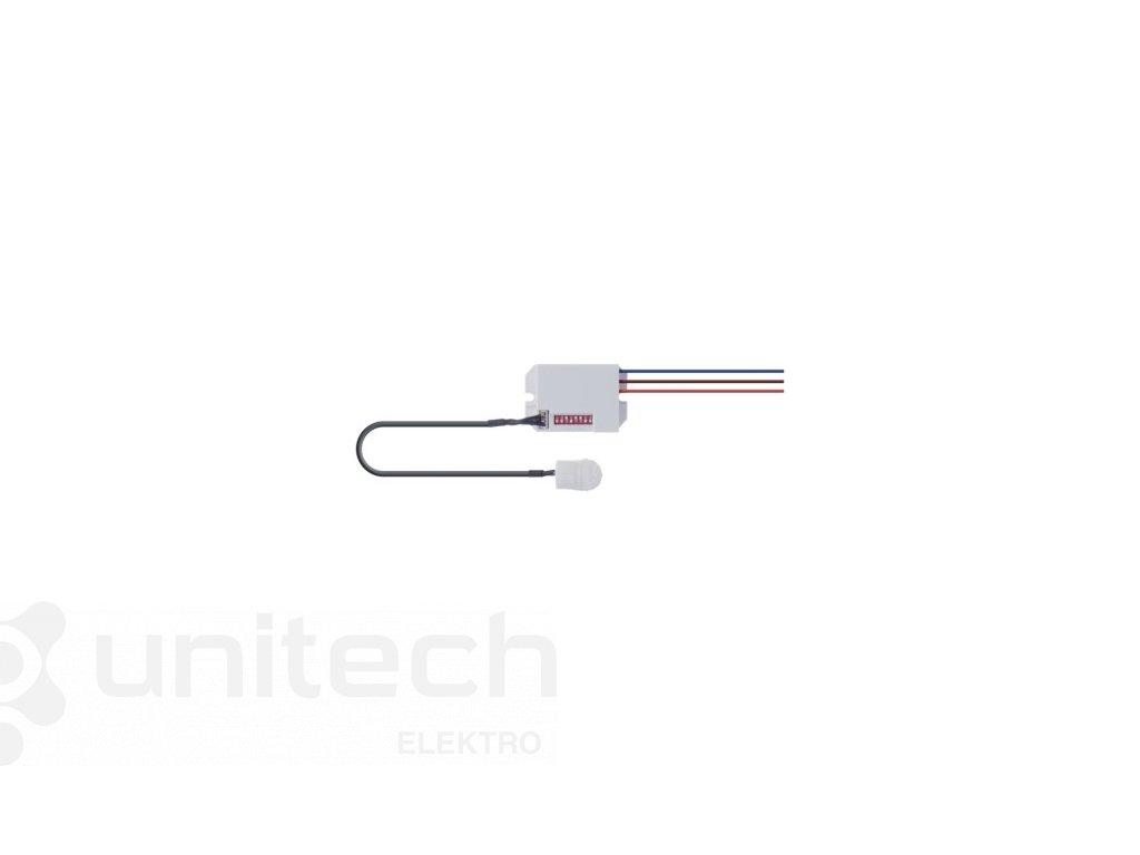 PIR senzor (pohybové čidlo) IP20 800W, biely