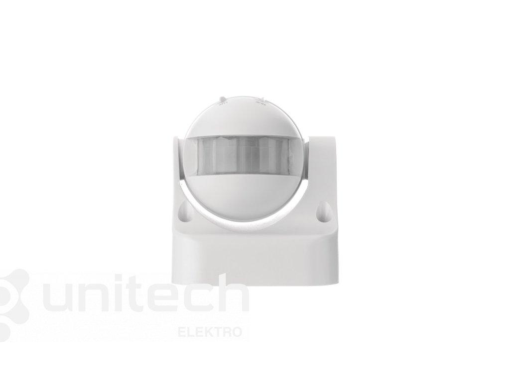 PIR senzor (pohybové čidlo) IP44 1200W, biely