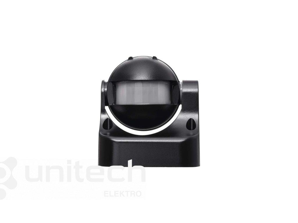 PIR senzor (pohybové čidlo) IP44 1200W, čierny
