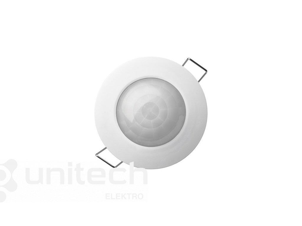 PIR senzor (pohybové čidlo) IP20 1200W, biely