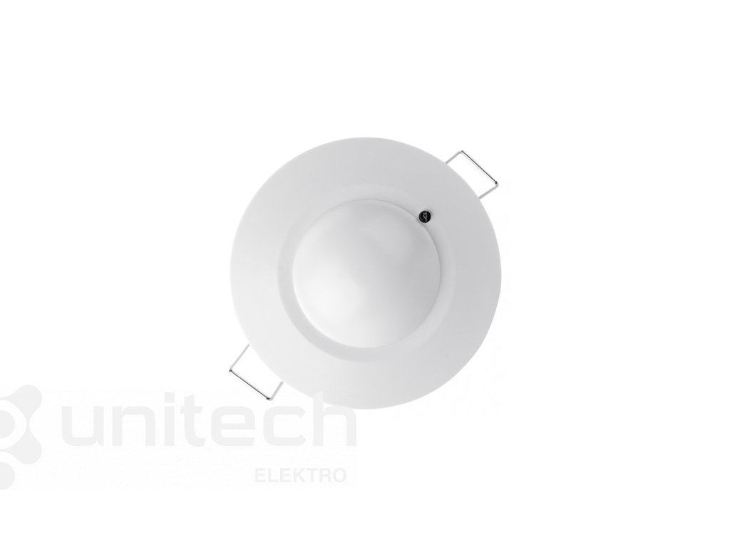 MW senzor (pohybové čidlo) IP20 1200W, biely