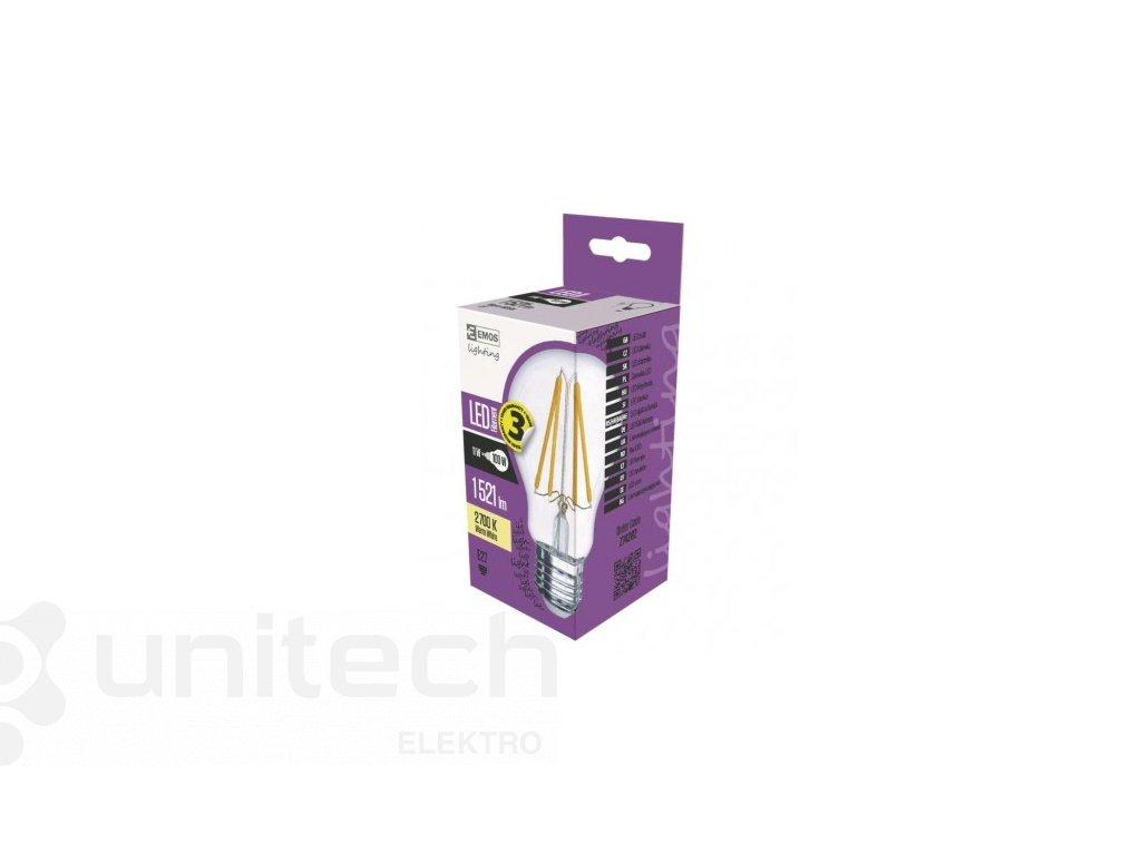 LED žiarovka Filament A60 A++ 11W E27 teplá biela